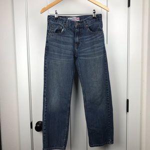 Levi's Denizen 14R 281 straight fit jeans